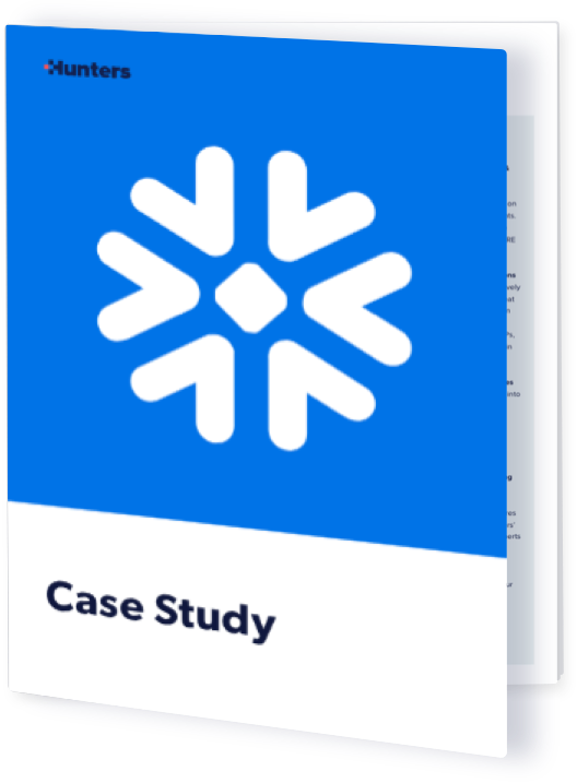 Snowflake: Achieving Better SOC Efficiency with Hunters XDR