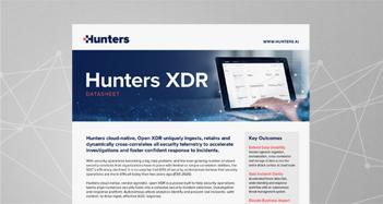 hunters-xdr-datasheet